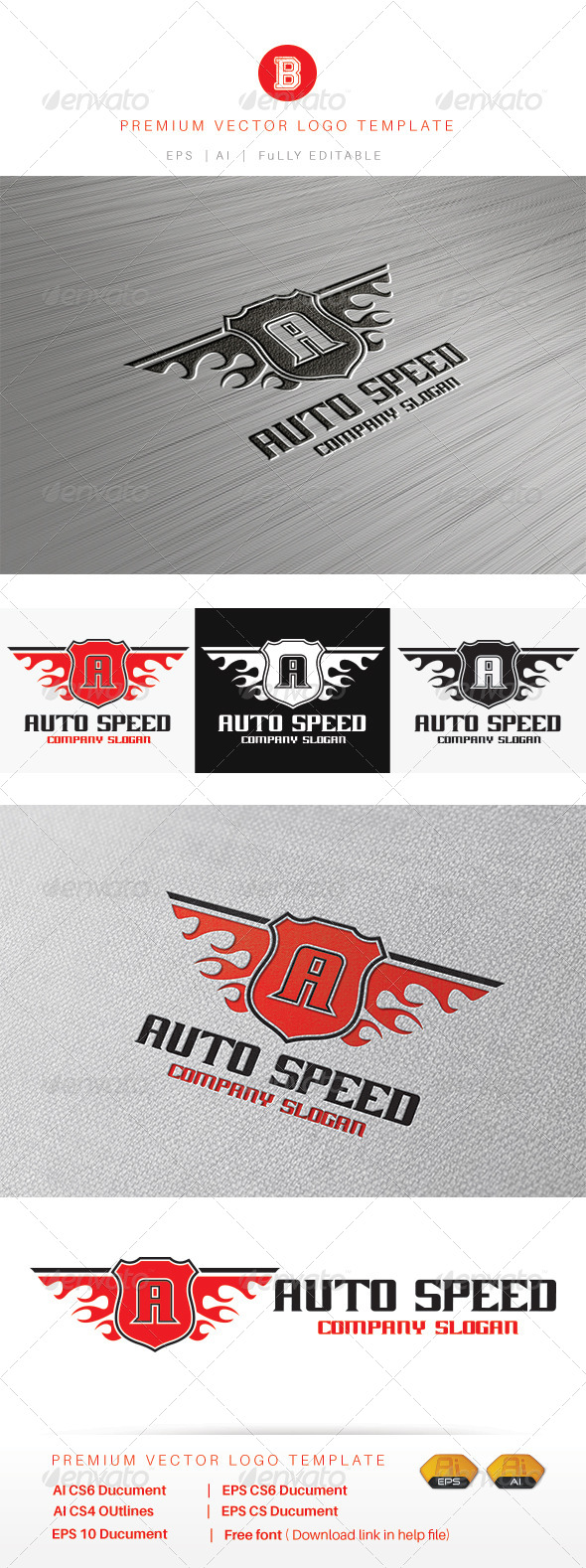 GraphicRiver Auto Speed 8502312