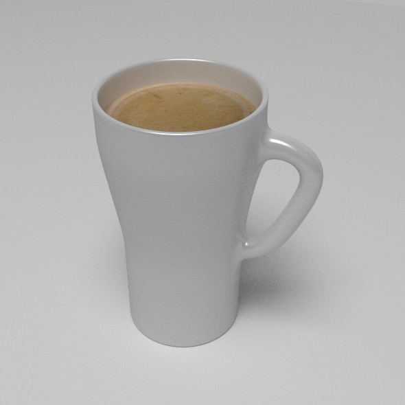 Big Coffee Cup - 3DOcean Item for Sale