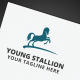 Young Stallion Logo - GraphicRiver Item for Sale