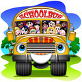 School Bus Cartoon - PhotoDune Item for Sale