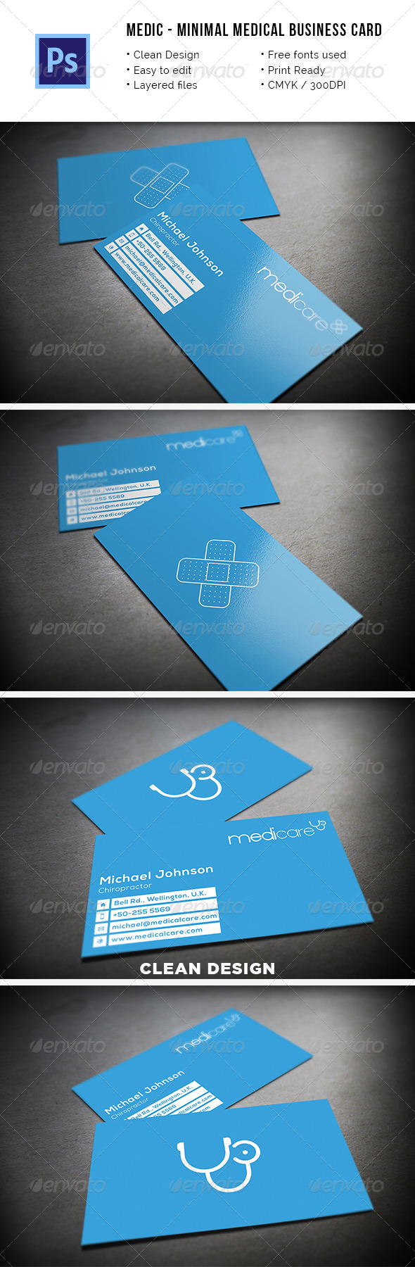 Industry specific business card templates from graphicriver page 30 reheart Images