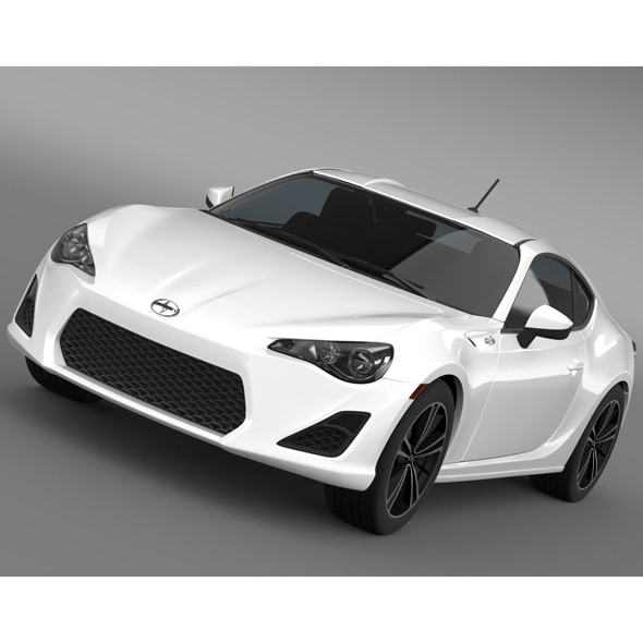 Scion FR S 2012 - 3DOcean Item for Sale