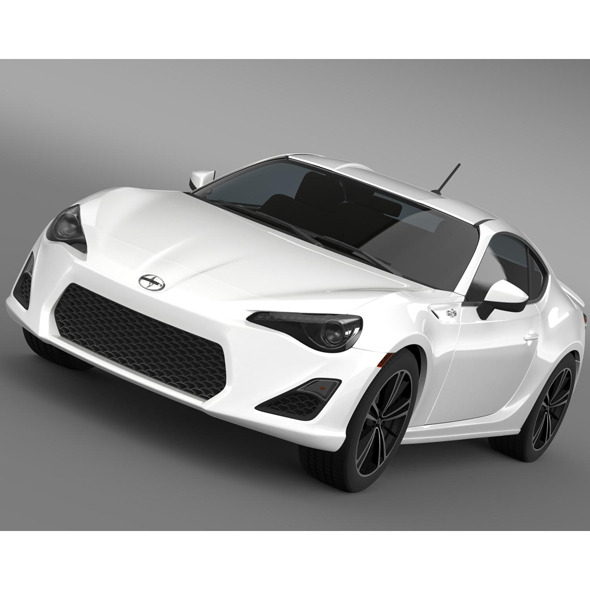 3DOcean Scion FR S Monogram 2014 8502828