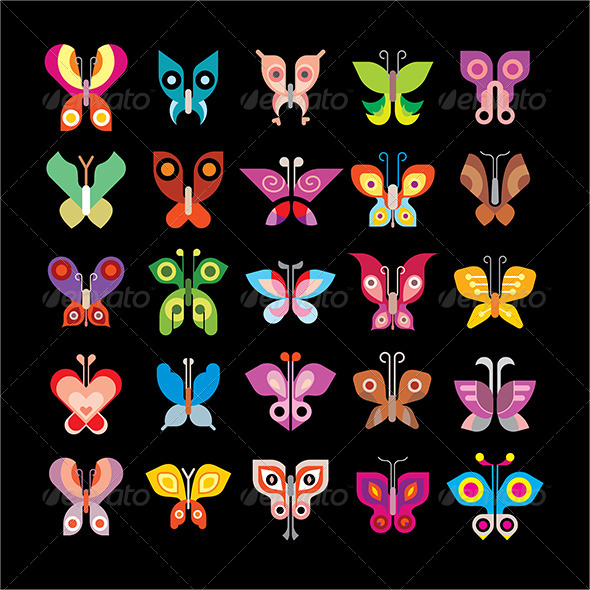 GraphicRiver Butterfly Collection 8502928