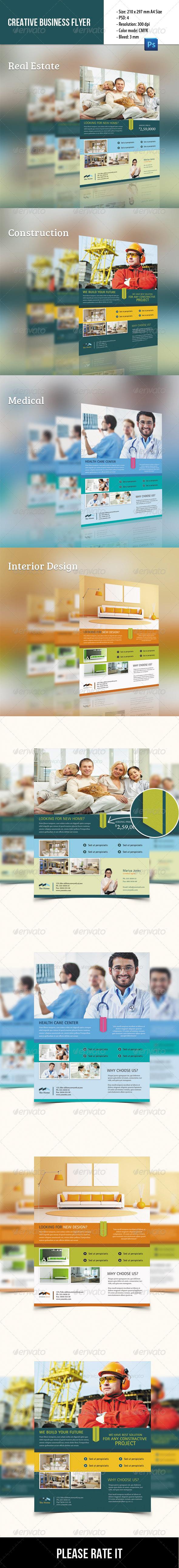 GraphicRiver Creative Corporate Flyer 8503030