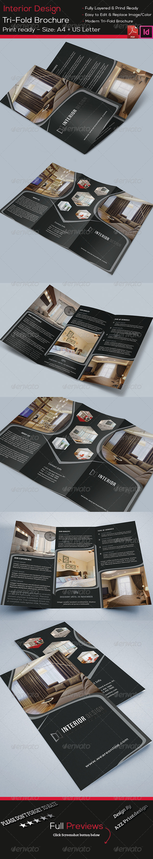 GraphicRiver Interior Brochure 8503282