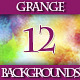 Set of Colorful Grange Lightness Backgrounds - GraphicRiver Item for Sale
