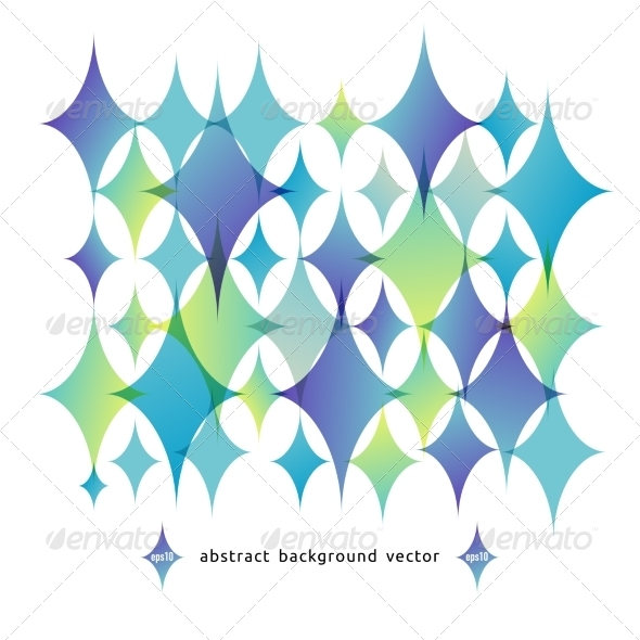 GraphicRiver Vector Abstract Background of Geometric Shapes 8503326