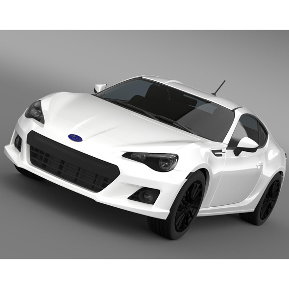 Subaru BRZ Aero Package ZC6 2012 - 3DOcean Item for Sale