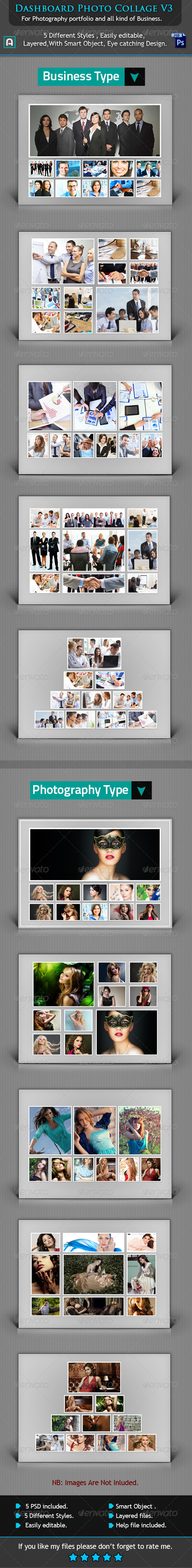 GraphicRiver Collage Photo Template V3 8503358