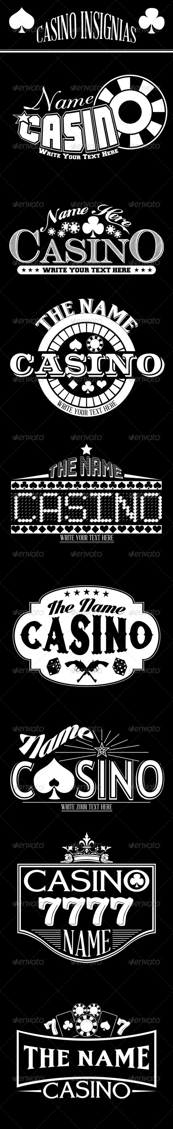 GraphicRiver 8 Casino Insignias 8503555