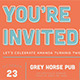 Retro Type Invitation Postcard - GraphicRiver Item for Sale