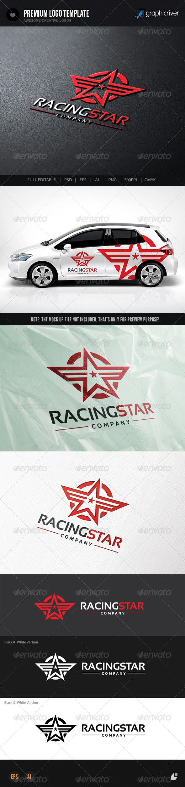 GraphicRiver Racing Star 8503596
