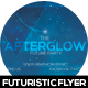 Afterglow Futuristic Flyer Design - GraphicRiver Item for Sale