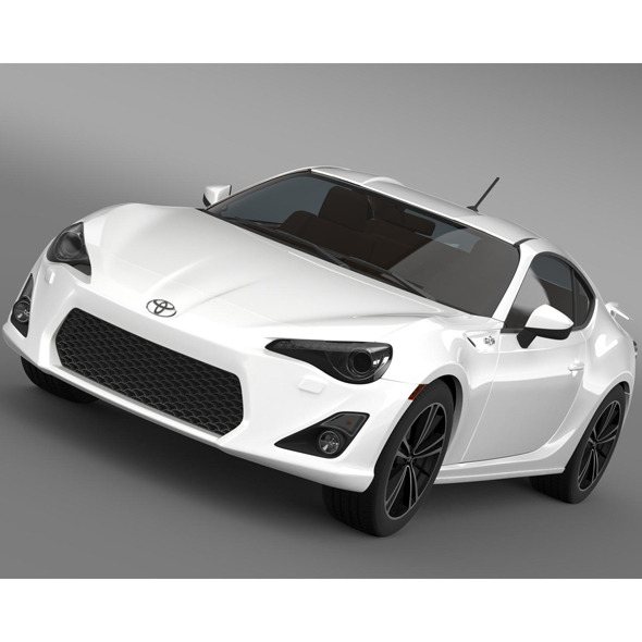 Toyota 86 GT Limited 2012 - 3DOcean Item for Sale