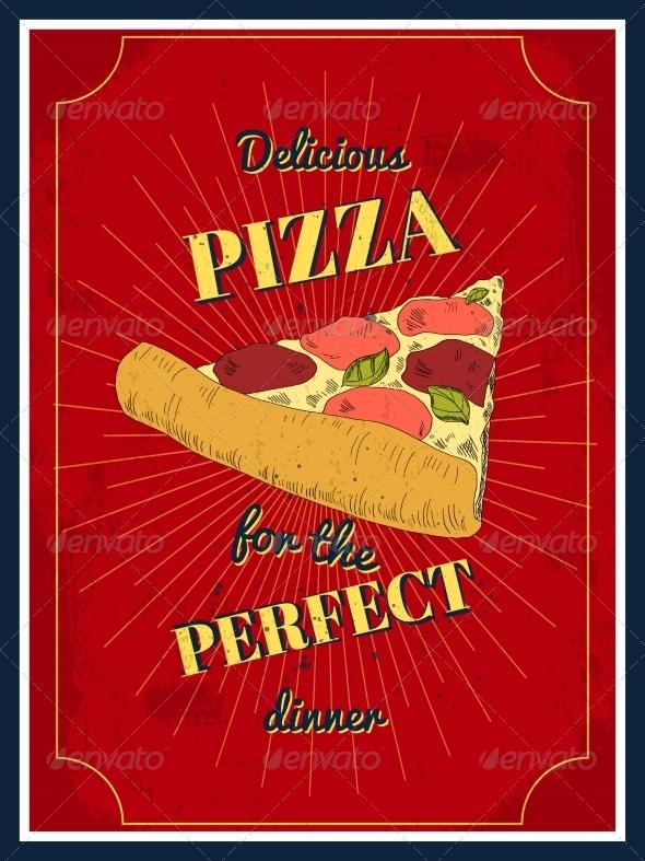 GraphicRiver Pizza Poster 8504276