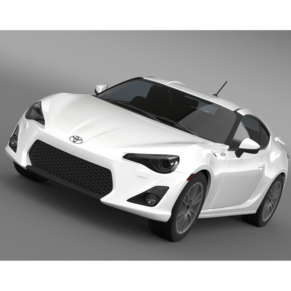 Toyota GT 86 Cup Edition 2014 - 3DOcean Item for Sale