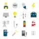 Set of Electricity Icons - GraphicRiver Item for Sale
