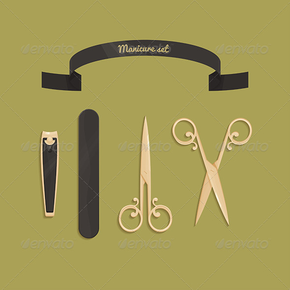 GraphicRiver Manicure Set 8504431