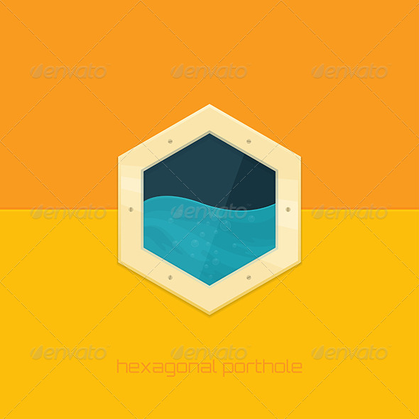 GraphicRiver Hexagonal Porthole 8504469