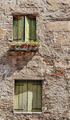 Facade of the old Italian house in Venice - PhotoDune Item for Sale