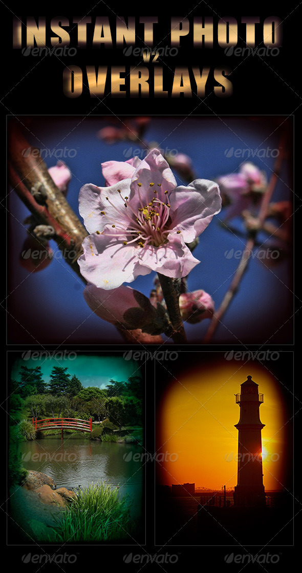 GraphicRiver Instant Photo Overlays Vol 2 8505175
