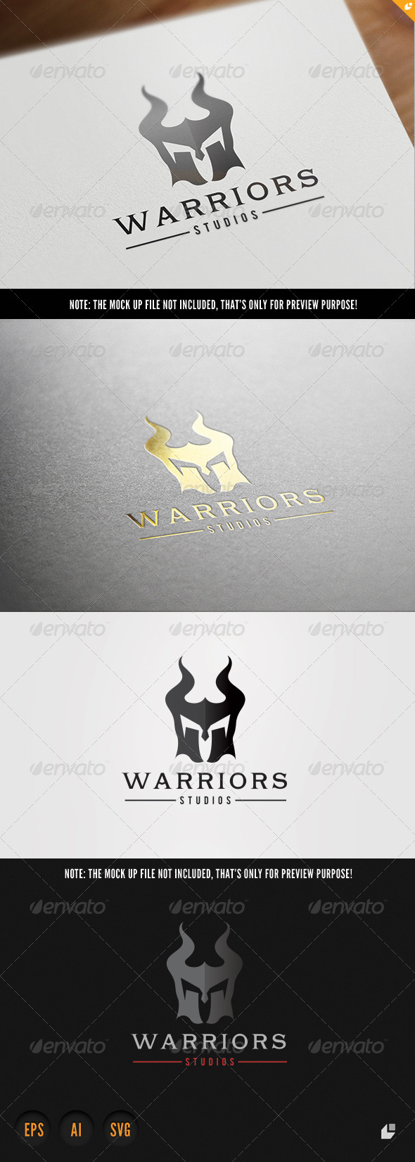 GraphicRiver Warriors Game Studios 8485289