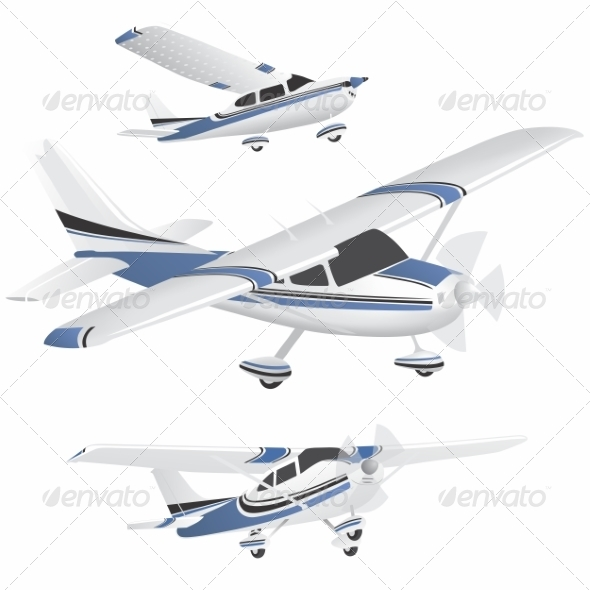 GraphicRiver Planes 8505464