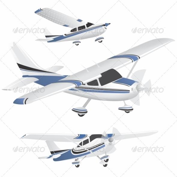 GraphicRiver Planes 8505464