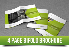 4 Page Bifold Template