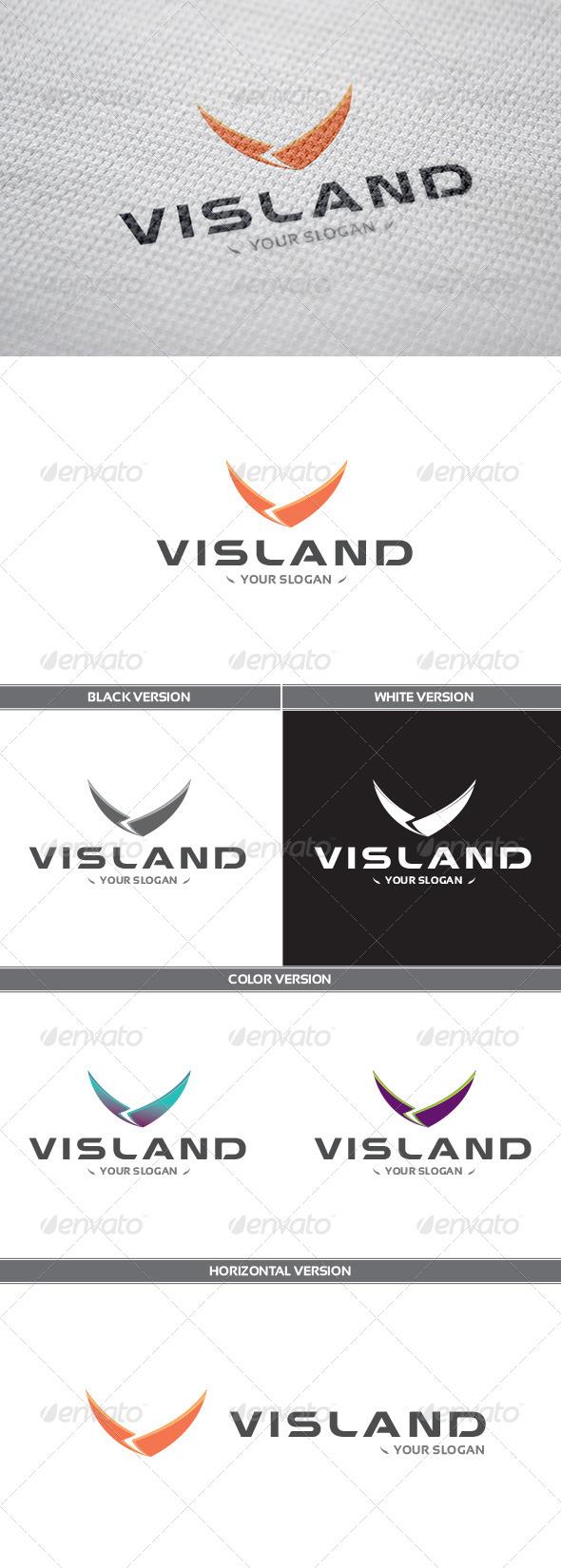 GraphicRiver Visland Logo 8505684