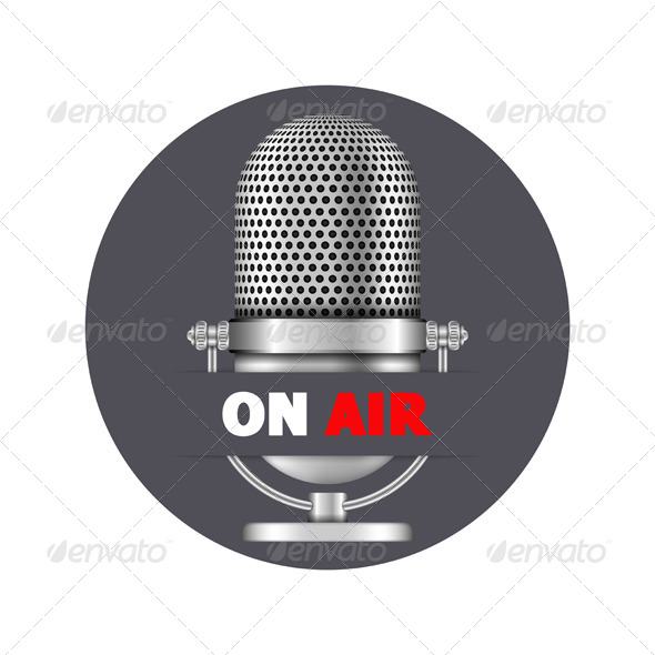 GraphicRiver Microphone On Air 8505699