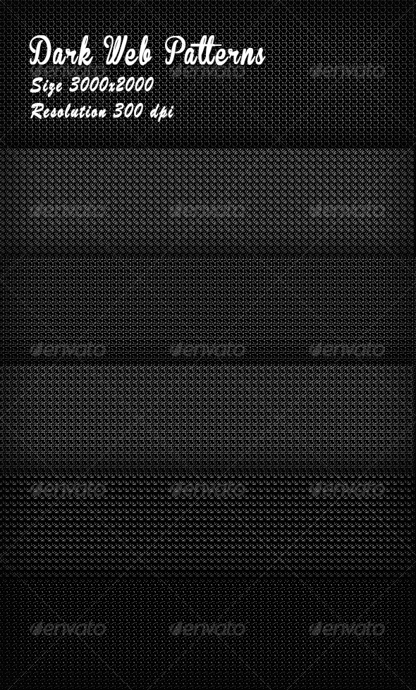 GraphicRiver Dark Web Patterns 8505819