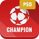 Champion - Soccer and Football PSD Template - ThemeForest Item for Sale
