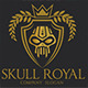 Skull Royal Logo - GraphicRiver Item for Sale