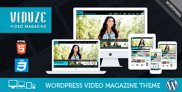 Viduze - Video WordPress Theme - Blog / Magazine WordPress