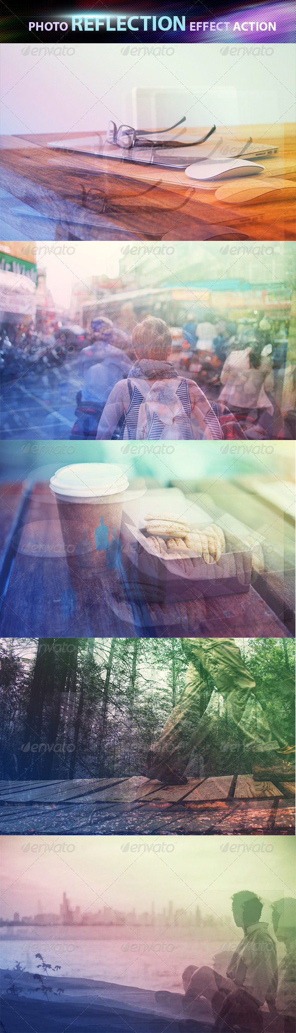 GraphicRiver Photo Reflection Effect Photoshop Action 8507291
