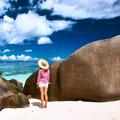 Woman at beautiful beach - PhotoDune Item for Sale