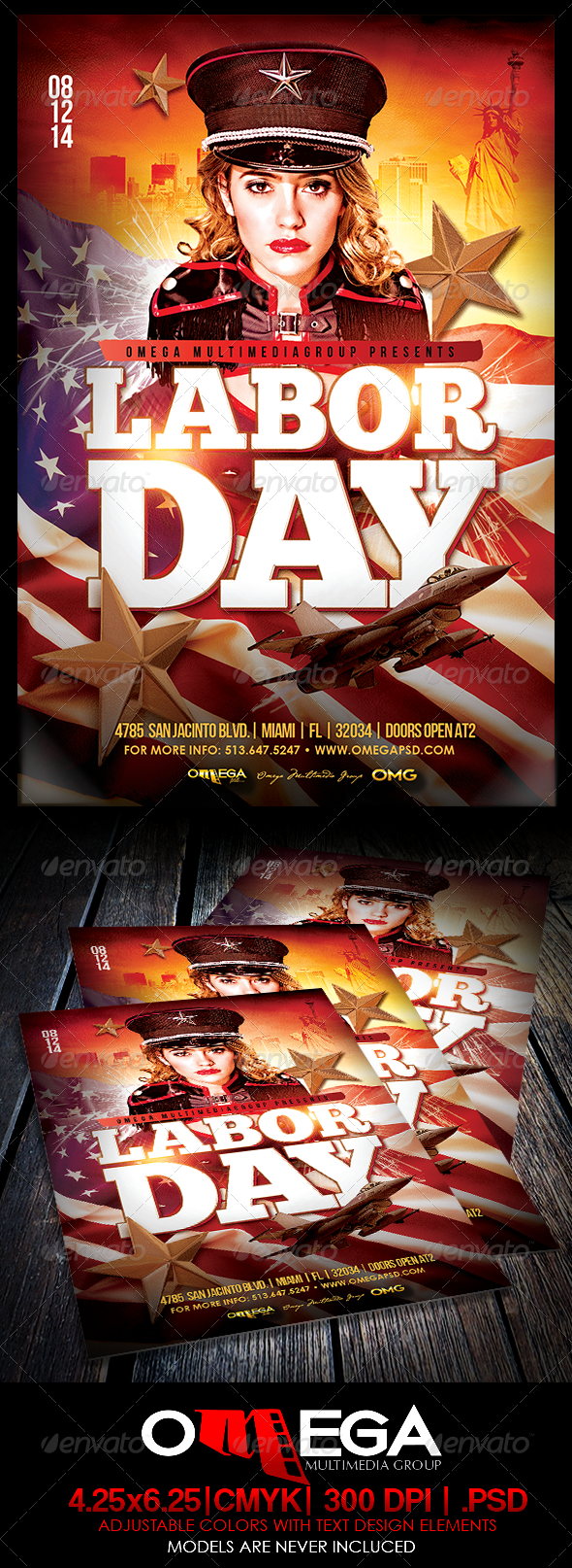 GraphicRiver Labor Day 8505152