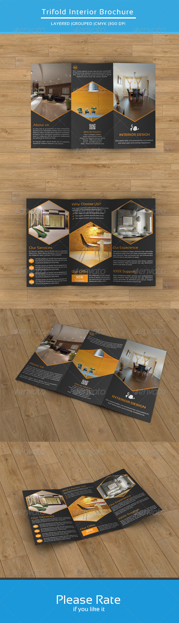 GraphicRiver Interior Trifold Template-V44 8508220