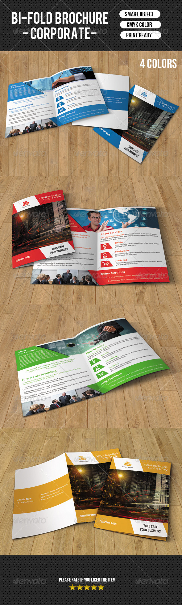GraphicRiver Business Brochure Template-V106 8508452