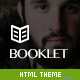 Booklet - Personal Blogging Html Theme - ThemeForest Item for Sale