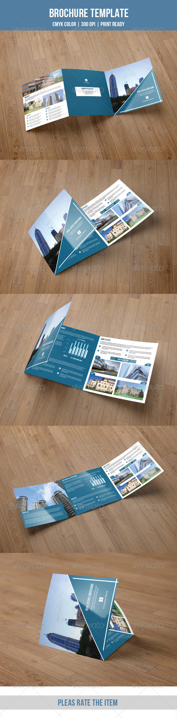 GraphicRiver Square Trifold Business Brochure-V24 8508508