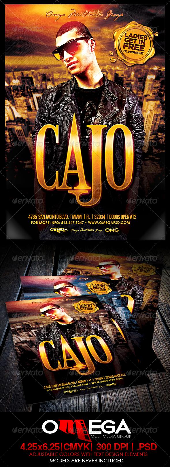 GraphicRiver Special Guest Cajo 8508530