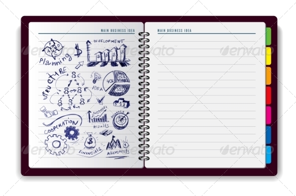 GraphicRiver Creative Notebook Idea 8508622