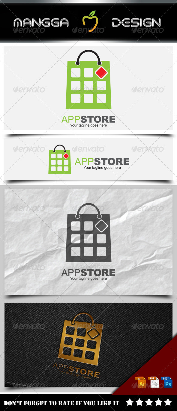 GraphicRiver Apps Store Logo 8508938