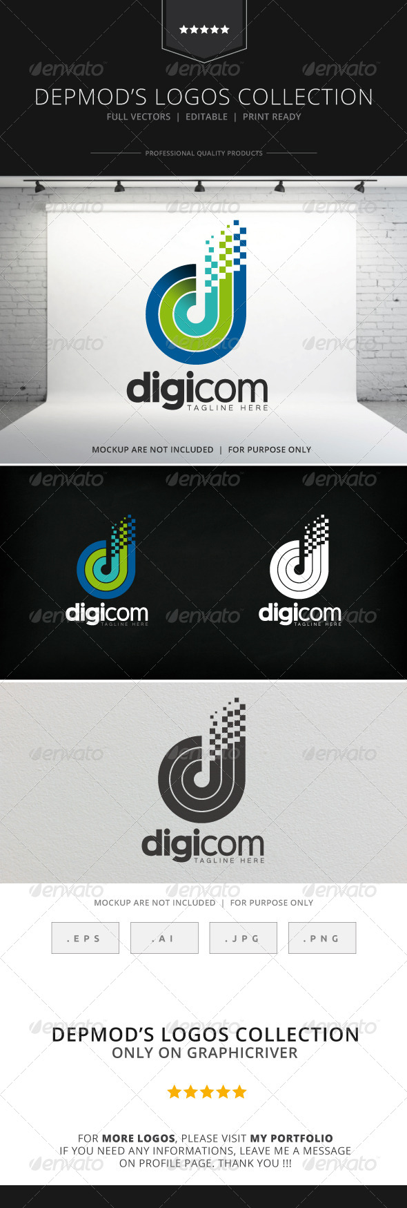 GraphicRiver Digicom Logo 8510020