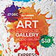 Watercolor Art Flyer Template - GraphicRiver Item for Sale