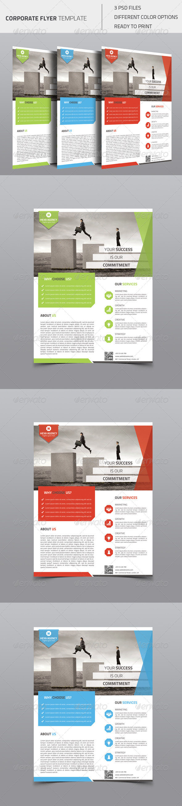 GraphicRiver Corporate Flyer 03 8510113