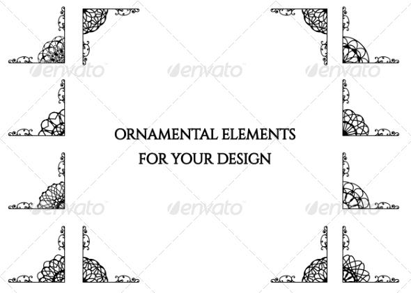 GraphicRiver Calligraphic Design Elements 8510251